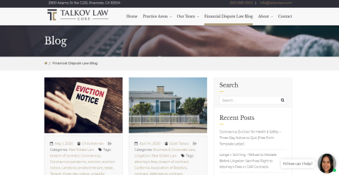 Talkov Law Real Estate & Dmoz Directory Web Directory