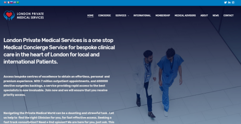 London Private Medical Services Dmoz Directory Web Directory