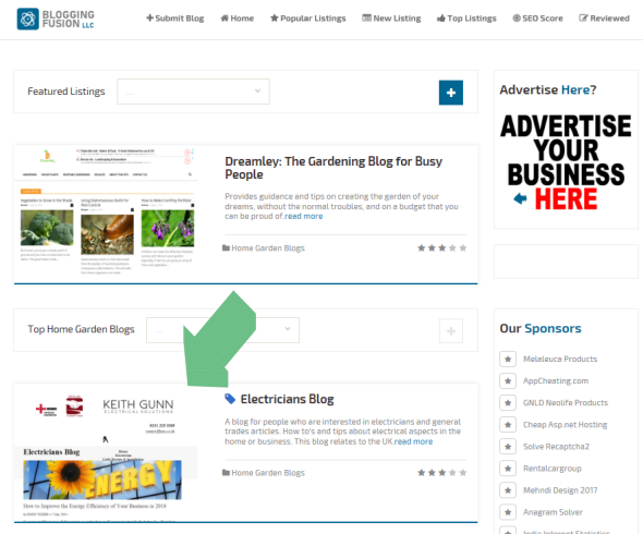 Dmoz Directory : Featured Listing